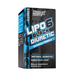 Lipo-6 Black Diuretic 80 Capsules